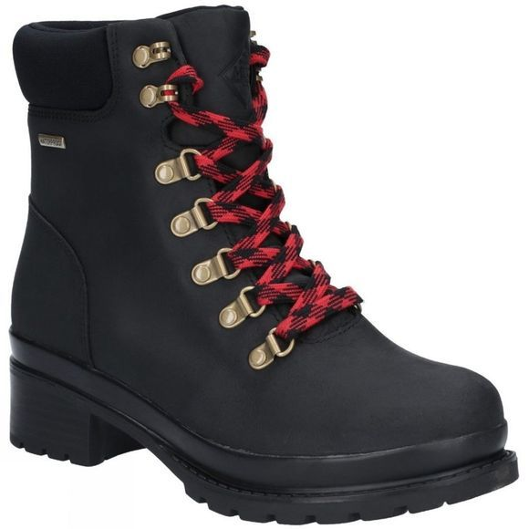 Muck Boot Womens Liberty Alpine Lace Up Ankle Boot Black