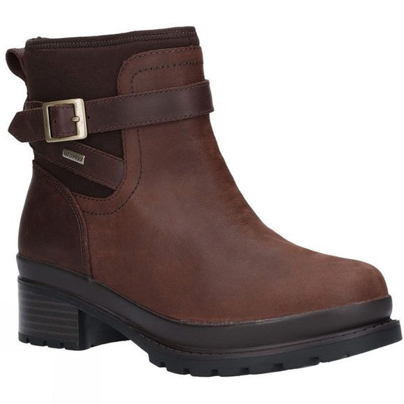 Muck Boot Womens Liberty Slip On Ankle Boot Brown