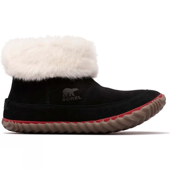 Sorel Womens Out n About Bootie Slipper Black