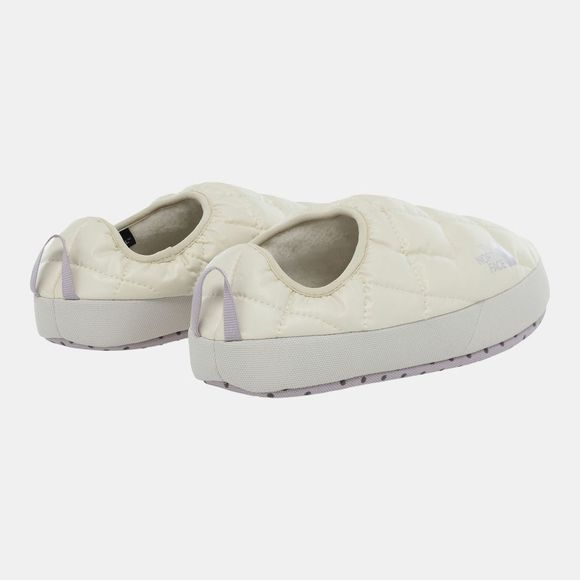 The North Face Women's ThermoBall Eco Tent Mule V Slipper Vintage White/Iris Lavender
