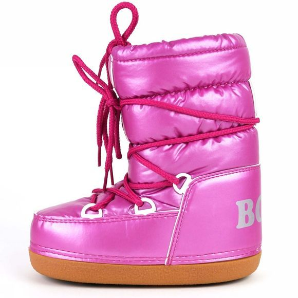 Calzat Shiny Moon Boot Pale Pink/Deep Pink