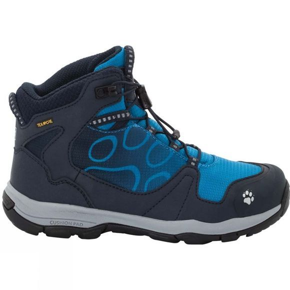 Jack Wolfskin Boys Akka Texapore Mid Night Blue