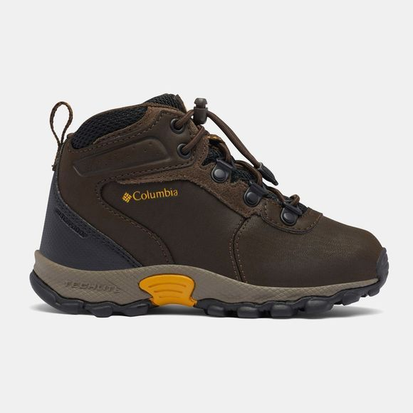 Columbia Boys Newton Ridge Boot Cordovan / Golden Yellow
