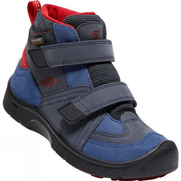 Keen Kids Hikeport Mid Strap Waterproof Boot Dress Blues/Blue Nights