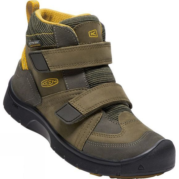 Kids Hikeport Mid Strap Waterproof Boot