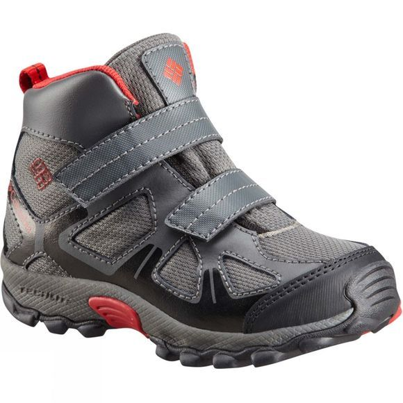 Columbia Boys Peakfreak Xcrsn Mid Wp Boot City Grey/ Bright Red