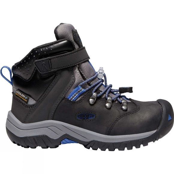 Keen Boys Torino II Mid WP Boot Black/Baleine Blue