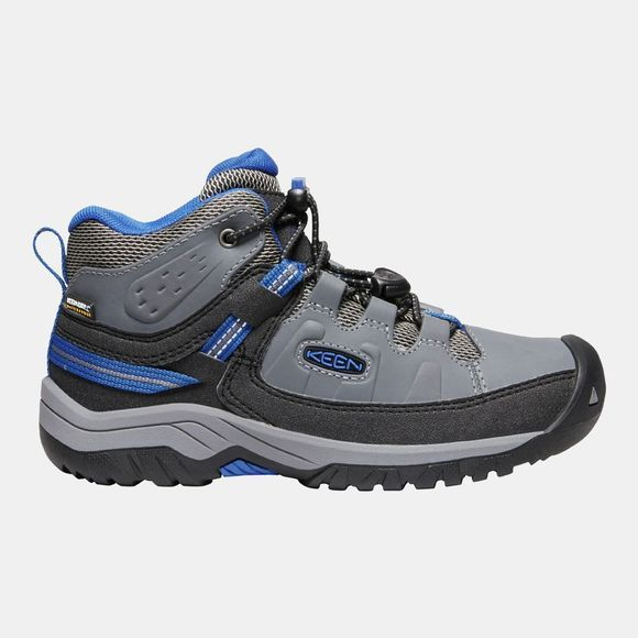Keen Youth Targhee Mid WP Boot Steel Grey/Baleine Blue
