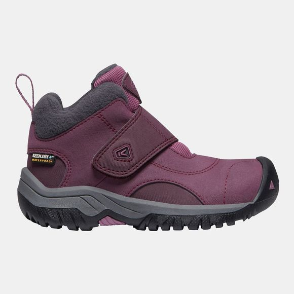 Keen Childrens Kootenay II WP Boot Winetasting/Tulipwood