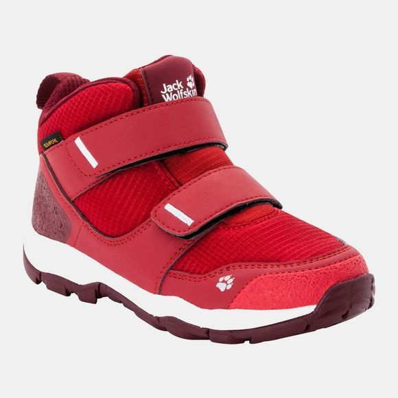 Jack Wolfskin Kids Mtn Attack 3 Texapore Mid VC Boot Red / Dark Red