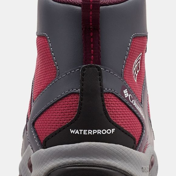 Columbia Youth PEAKFREAK XCRSN MID WP Multi-sports Shoe Wine Berry/ Black Cherry