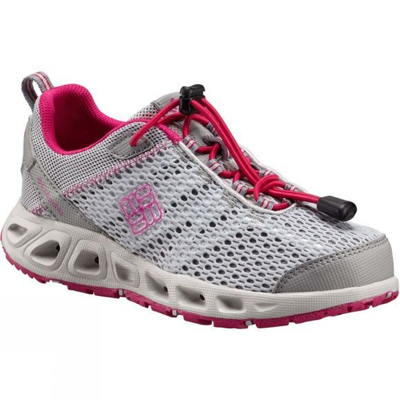 Columbia Kids Drainmaker III Shoe Grey Ice/Haute Pink