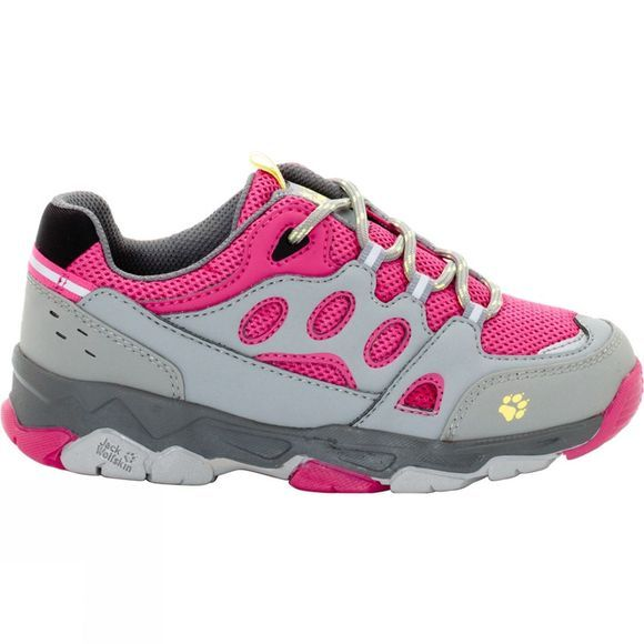 Jack Wolfskin Kids Mtn Attack 2 Low Shoe Tropic Pink