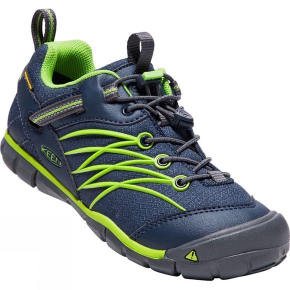 Keen Youth Chandler CNX Waterproof Shoe Dress Blues/Greenery