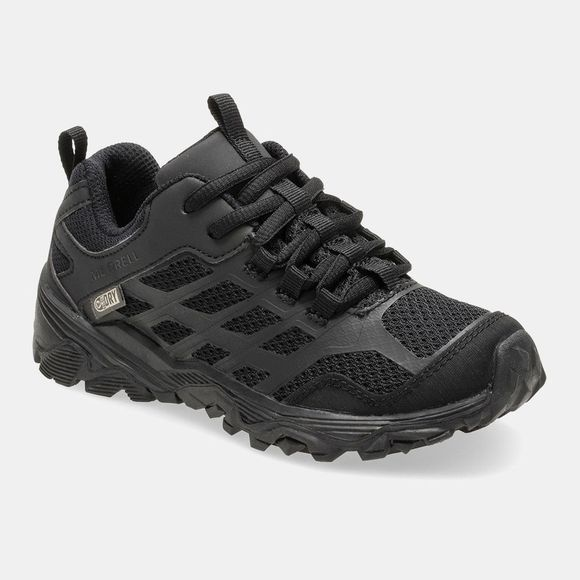 Merrell Boys Moab FST Low Waterproof Shoe Black