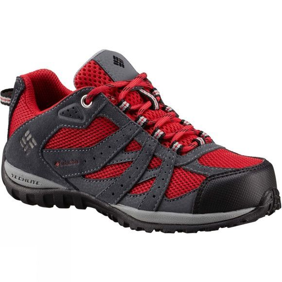 Columbia Childrens Redmond Waterproof Shoe Mountain Red/Black