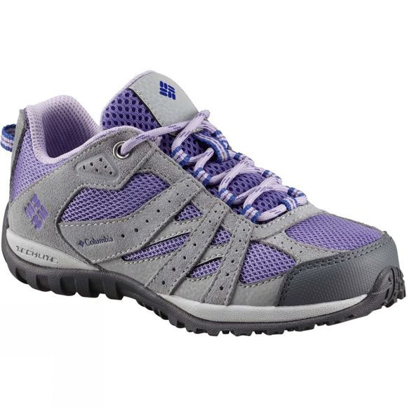 Columbia Youths Redmond Shoe Purple Aster/Clematis Blue