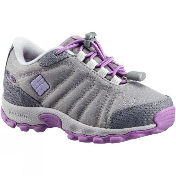 Columbia Boys Firecamp Sledder Ii Wp Boot Steam/ Phantom Purple