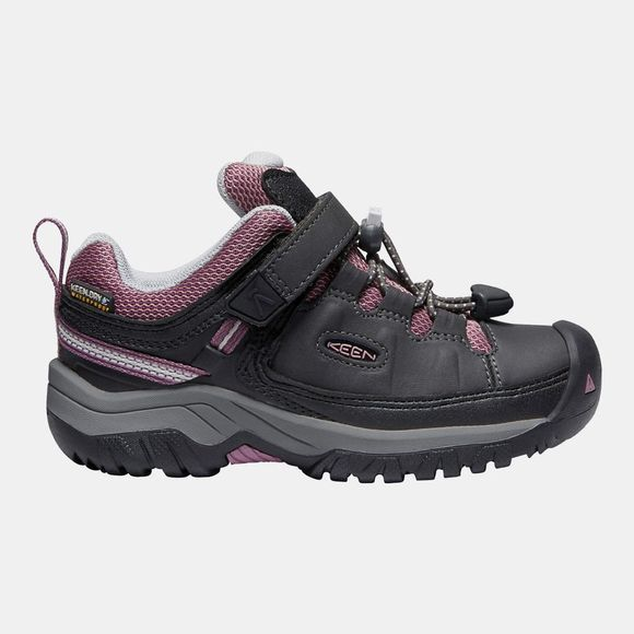 Keen Kids Targhee Low WP Shoe Raven/Tulipwood