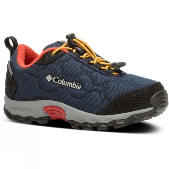 Columbia Children's Firecamp Sledder 3 Waterproof Shoe Collegiate Navy/Flame