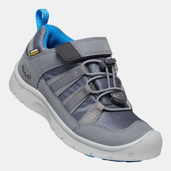 Keen Kids Hikeport 2 Low WP Shoe Steel Grey/Brilliant Blue