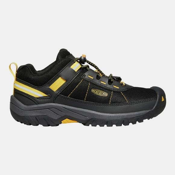 Keen Kids Targhee Sport Vent Shoe Black/Keen Yellow