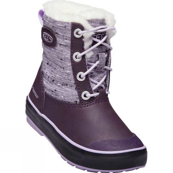 Keen Youth Elsa Waterproof Boot Plum/Pastel Lilac