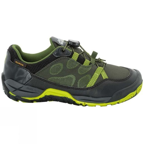 Jack Wolfskin Kids Jungle Gym Texapore Low Shoe Gorilla