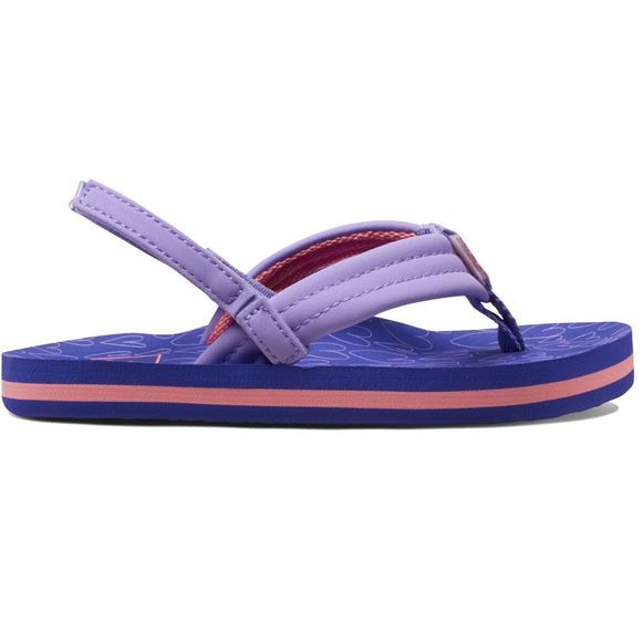 Reef Little Ahi Sandal Purple Hearts
