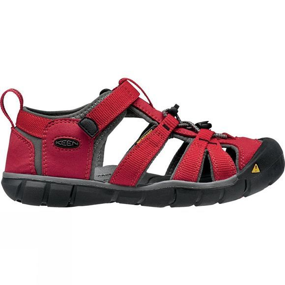 Keen Childrens Seacamp II CNX Sandal Racing Red/Gargoyle