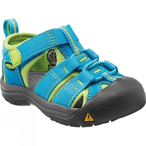 Keen Toddlers Newport H2 Sandal Hawaiian Blue / Green Glow