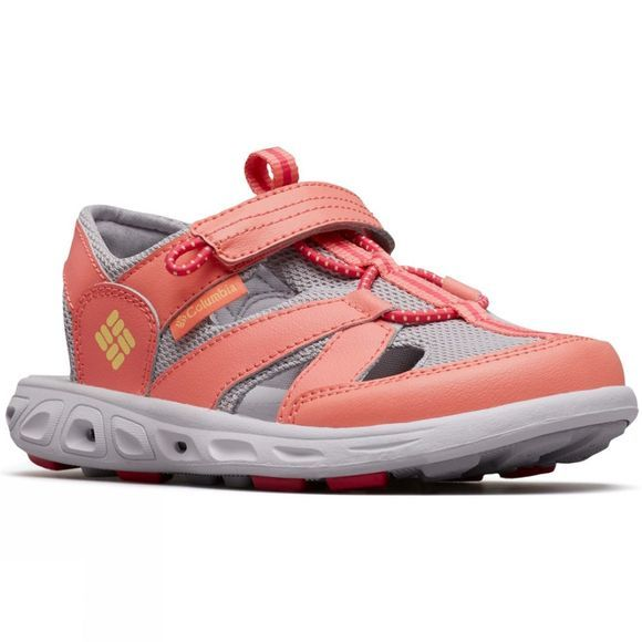 Columbia Kids Techsun Wave Sandal Hot Coral, Sweet Corn
