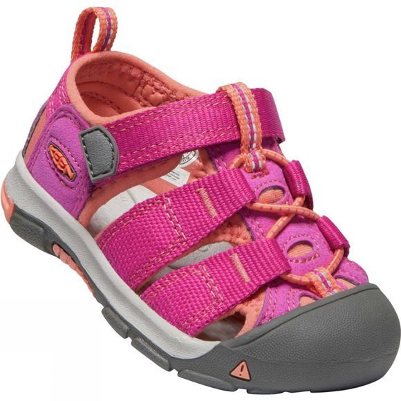 Keen Kids Toddlers Newport H2 Sandal Very Berry/Fusion Coral