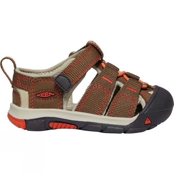 Keen Kids Toddlers Newport H2 Sandal Dark Earth/Spicy Orange