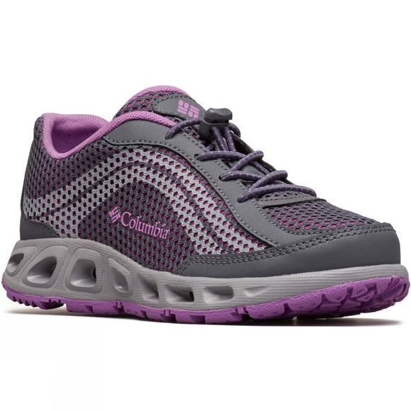 Columbia Youth Drainmaker IV Shoe 14+ Graphite, Northern Lights