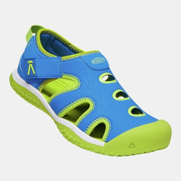 Keen Youth Stingray Sandal Brilliant Blue/Chartreuse