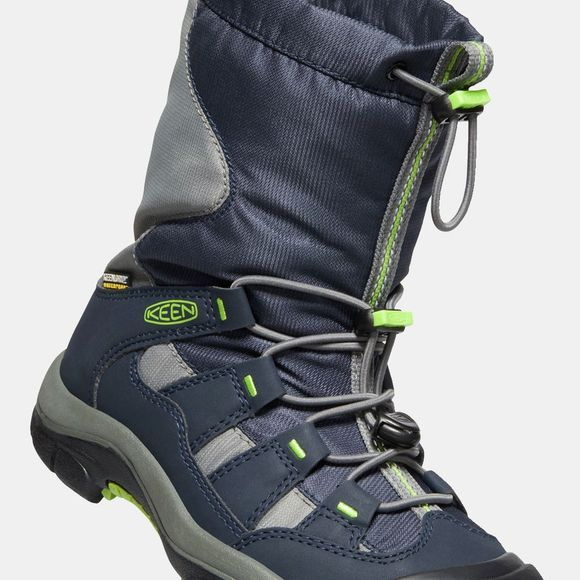 Keen Youth Winterport Boot Blue Nights/Greenery