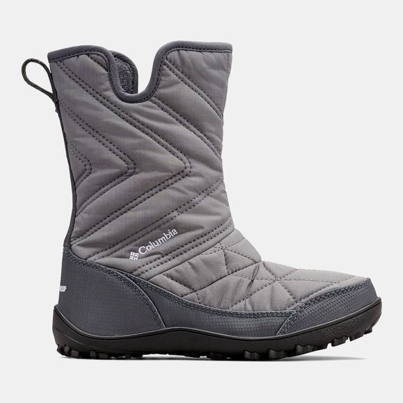 Columbia Boys Youth Minx Slip Iii Boot Ti Grey Steel/White