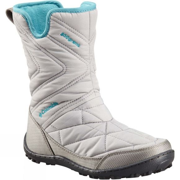Columbia Boys Youth Minx Slip Iii Boot Steam/ Pacific Rim
