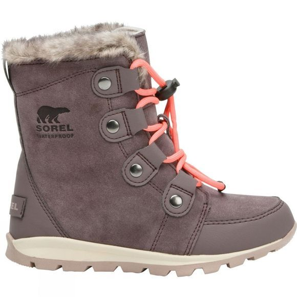Sorel Youth Whitney Suede 14+ Purple Sage