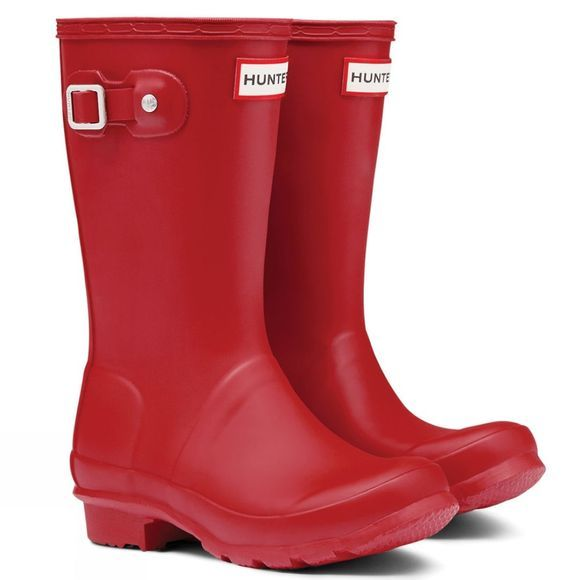 Hunter Kids Original Wellies Red