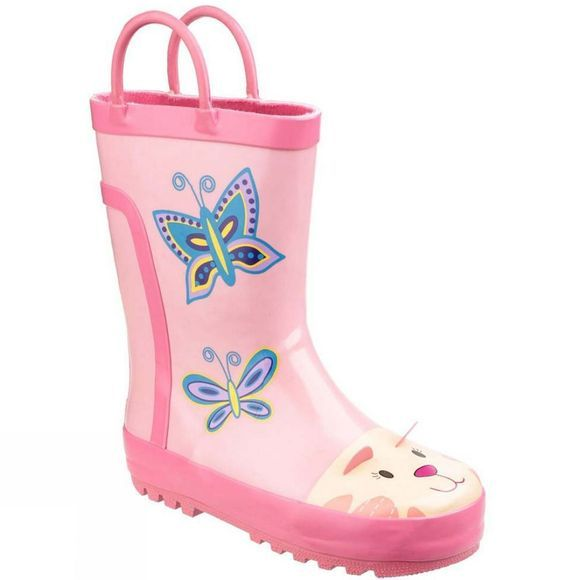 Cotswold Kids Puddle Boot Pink
