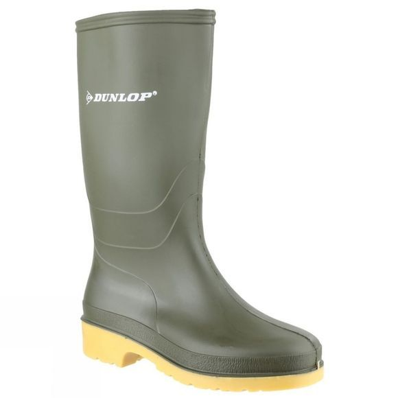 Dunlop Kids Dulls Welly Green