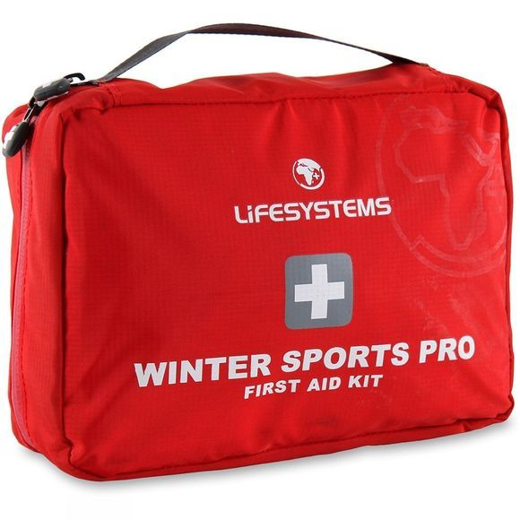 Lifesystems Winter Sports Pro First Aid Kit Red