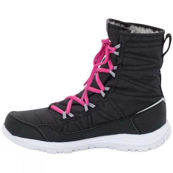 Jack Wolfskin Girls Portland Mid Boot Black