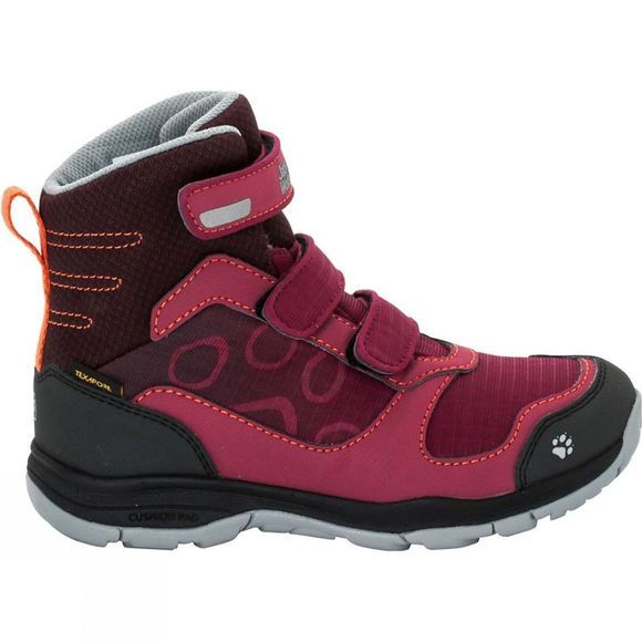 Jack Wolfskin Girls Grivla Texapore High Boot Dark Ruby