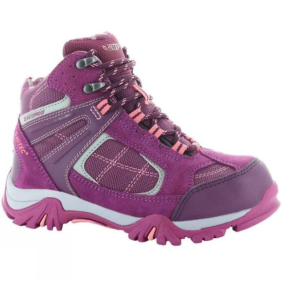 Hi-Tec Girls Altitude Lite VI WP JR Boot Amaranth/Boysenberry/Blossom