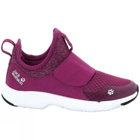 Jack Wolfskin Girls Heljar Low Shoe Amethyst