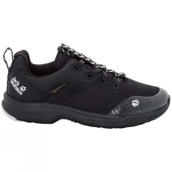Jack Wolfskin Girls Phoenix Texapore Shoe Black