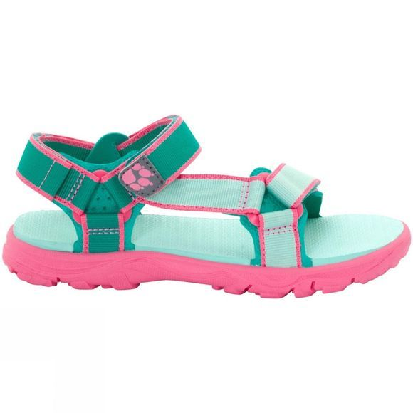 Jack Wolfskin Girls Seven Seas 2 Sandal Pale Mint